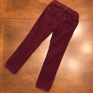Toddler girl corduroy leggings